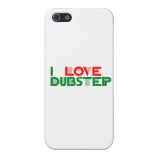 I LOVE DUBSTEP COVER FOR iPhone 5
