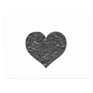 I LOVE DUCT TAPE - DUCT TAPE HEART POST CARD