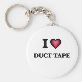 I love Duct Tape Keychain