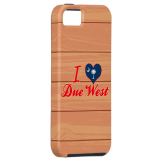 I Love Due West, South Carolina Case For The iPhone 5