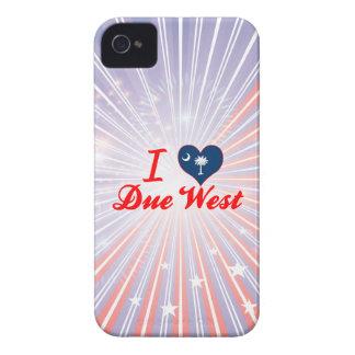 I Love Due West, South Carolina Case-Mate iPhone 4 Case