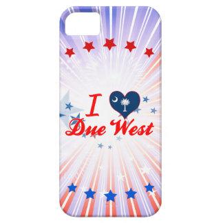 I Love Due West, South Carolina iPhone 5 Cover