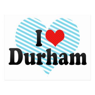 I Love Durham Postcard