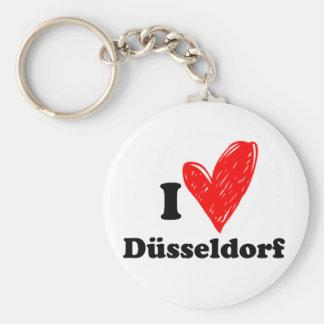 I love Düsseldorf Keychain