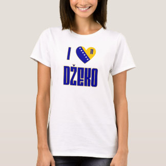 I Love Dzeko T-Shirt