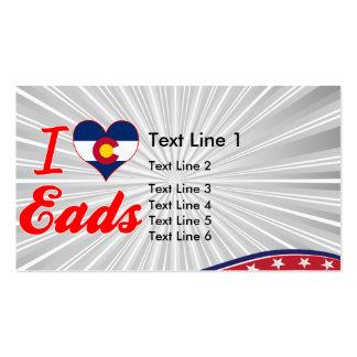 I Love Eads, Colorado Business Cards