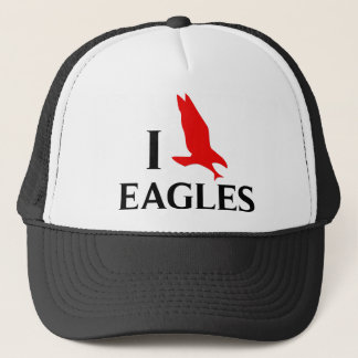 I Love Eagles Trucker Hat