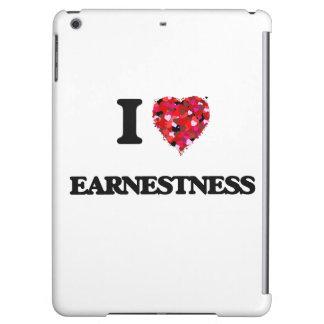 I love EARNESTNESS Case For iPad Air