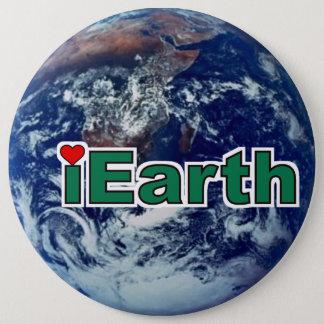 I Love Earth Button