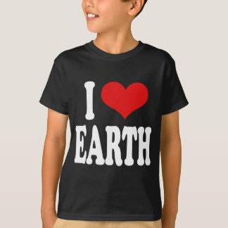I Love Earth T-Shirt