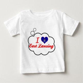 I Love East Lansing, Michigan Baby T-Shirt