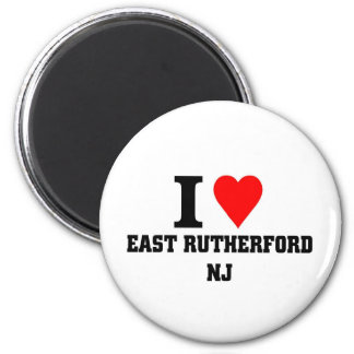 I love East Rutherford, New jersey Magnet
