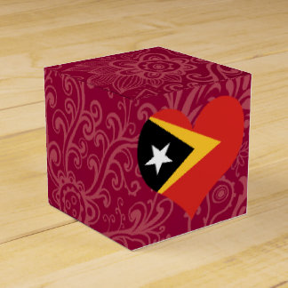 I Love East+Timor Favor Box