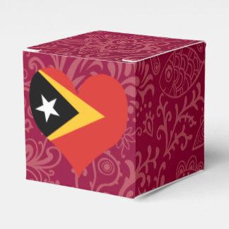 I Love East+Timor Favor Boxes