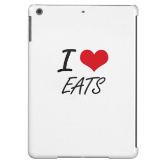 I love EATS Cover For iPad Air