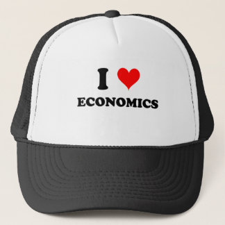 I Love Economics Trucker Hat