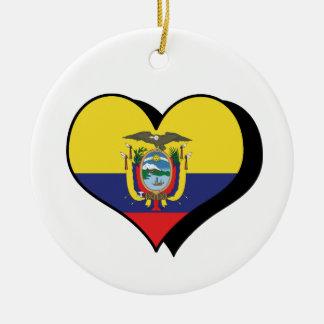 I Love Ecuador Ornament
