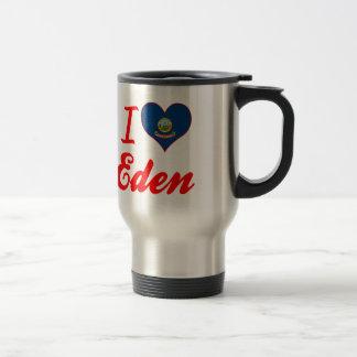 I Love Eden, Idaho Coffee Mugs