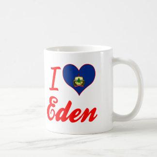 I Love Eden, Vermont Coffee Mugs