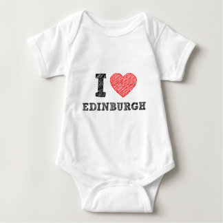 I-love-Edinburgh Baby Bodysuit