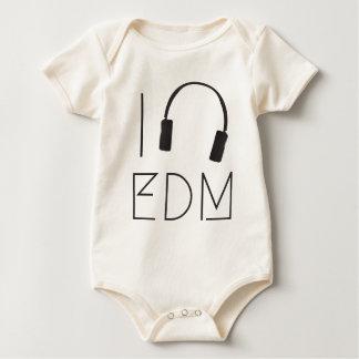 I love EDM Baby Bodysuit