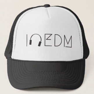 I love EDM Trucker Hat