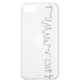 I love Edmonton in an extraordinary ecg style Cover For iPhone 5C