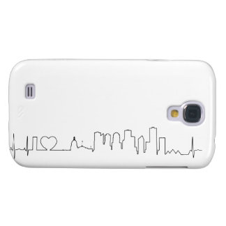 I love Edmonton in an extraordinary ecg style Samsung Galaxy S4 Cases
