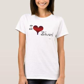 I Love Edward T-Shirt