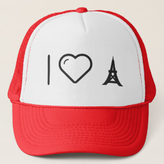 I Love Eiffels Trucker Hat