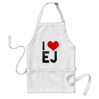 I Love EJ Apron