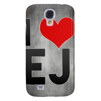 I Love EJ Galaxy S4 Cover