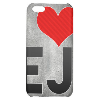 I Love EJ Case For iPhone 5C