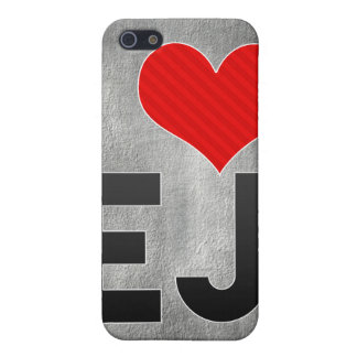 I Love EJ Cases For iPhone 5