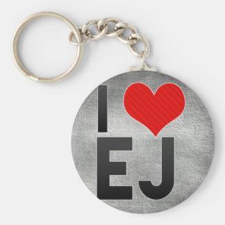 I Love EJ Keychains