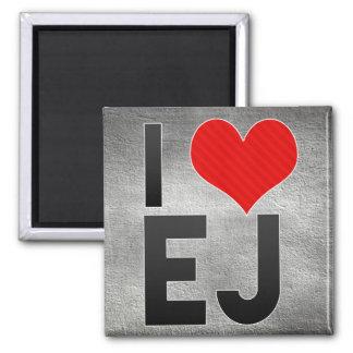 I Love EJ Magnet