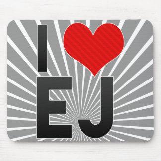 I Love EJ Mousepad