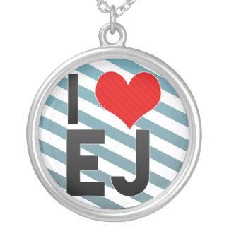 I Love EJ Necklace