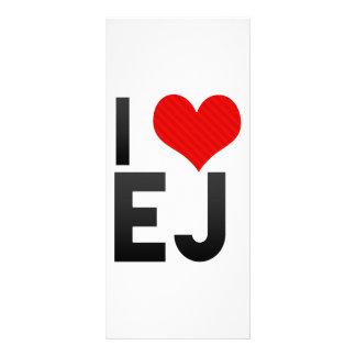 I Love EJ Customized Rack Card
