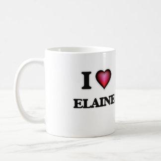 I Love Elaine Coffee Mug