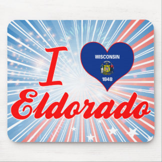 I Love Eldorado, Wisconsin Mousepads