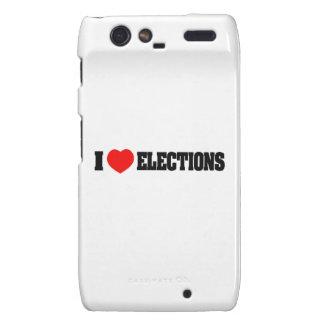 I Love Elections Droid RAZR Cover