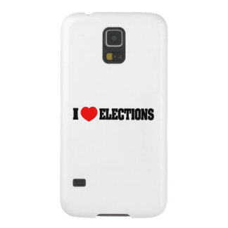 I Love Elections Galaxy S5 Cases
