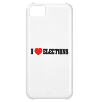 I Love Elections Cover For iPhone 5C