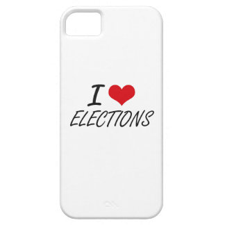 I love ELECTIONS iPhone 5 Covers