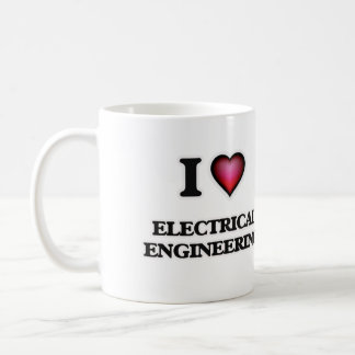 I Love Electrical Engineering Coffee Mug