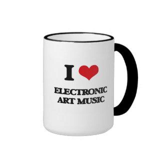I Love ELECTRONIC ART MUSIC Mug