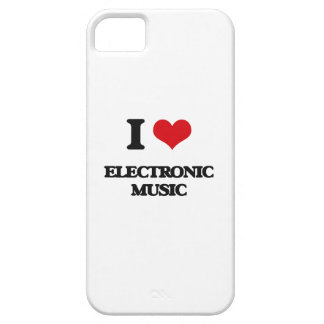 I Love ELECTRONIC MUSIC Cover For iPhone 5/5S