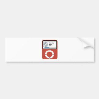 I love Electronica Music Bumper Sticker