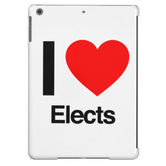 i love elects cover for iPad air